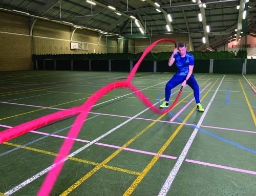 Fit for Business: Battle Ropes