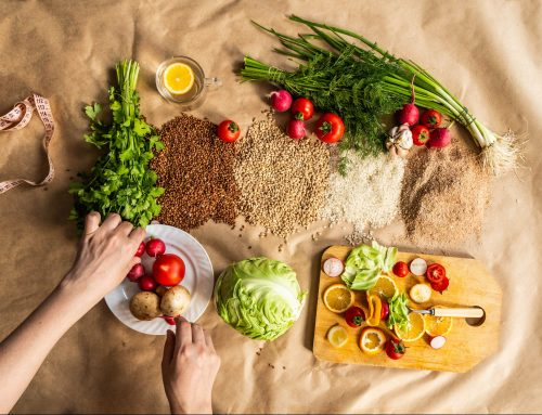 Vegetarian home-cooking for the home-bound