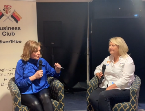 Rivertribe Editor Linda Duberley interviews Dot Com Digital creator Sharon Doughty